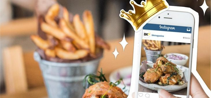 Instagram Marketing Trends with Mobile Food Ordering App