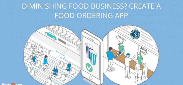 Diminishing Food Business? Create a Food Ordering App