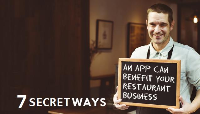 7benefits of restaurant app