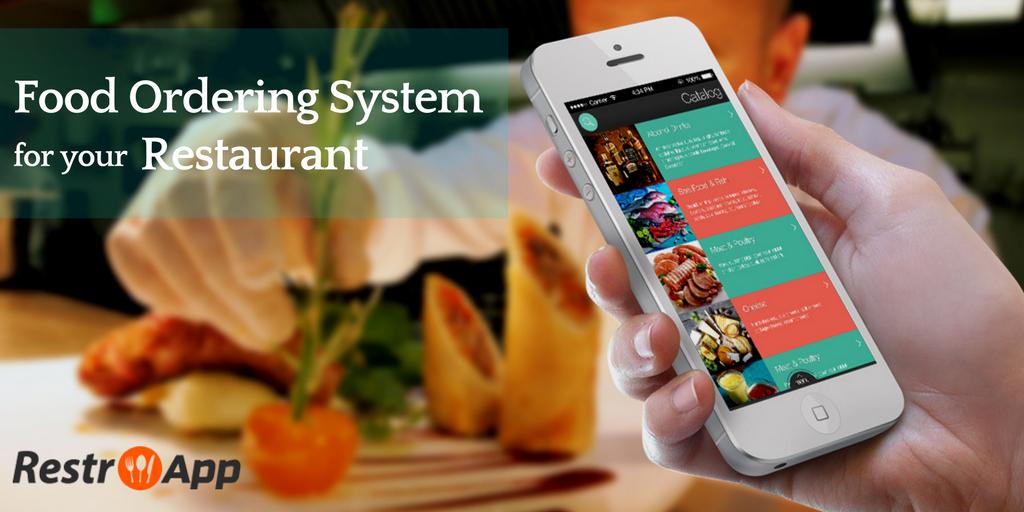 mobile food ordering system-restroapp