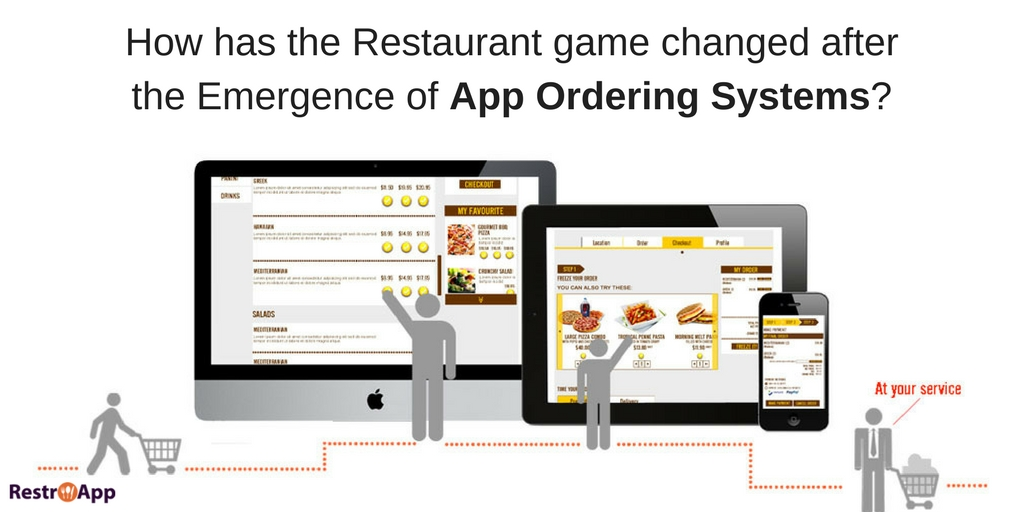 How has the Restaurant game changed after the Emergence of App Ordering Systems_RestroApp