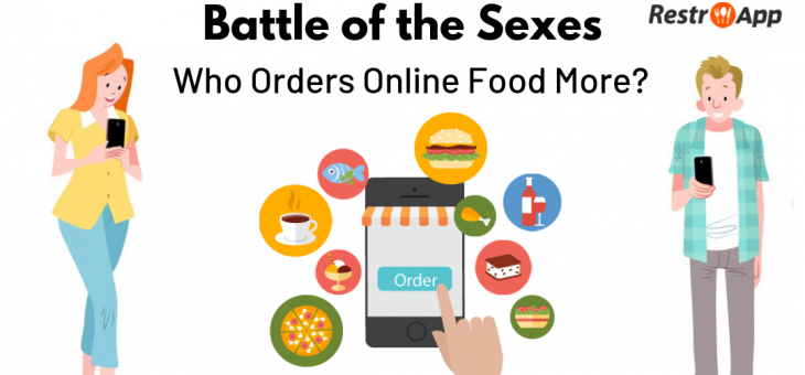 Battle of the Sexes – Who Orders Online Food More?