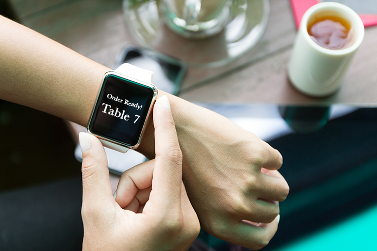 Wearable - future of restaurant industry