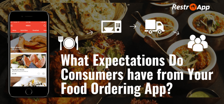 What Expectations Do Consumers have from Your Food Ordering App?