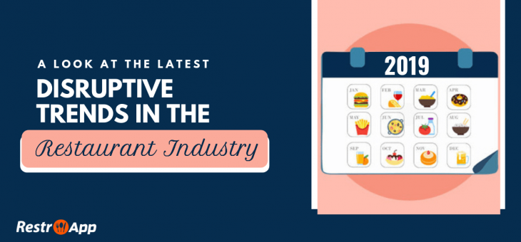 A Look at the Latest Disruptive Trends in the Restaurant Industry