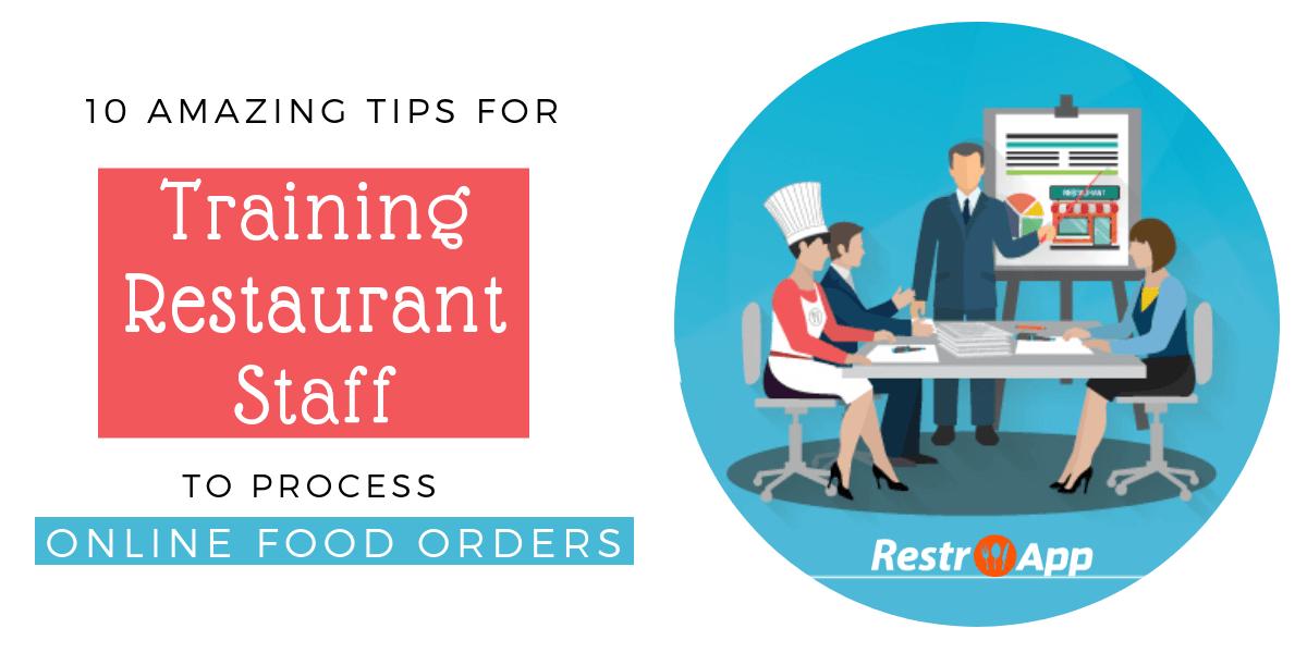 Restaurant Staff Training Plan - RestroApp