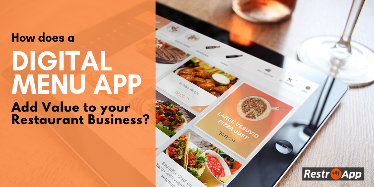 Digital Menu App - RestroApp