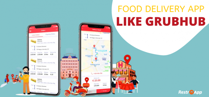 Digitize your Restaurant with Web/Android/iOS App like Grubhub