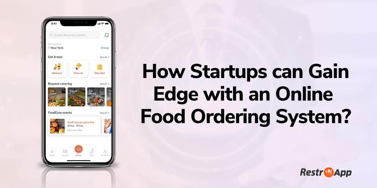 online food ordering systems - RestroApp