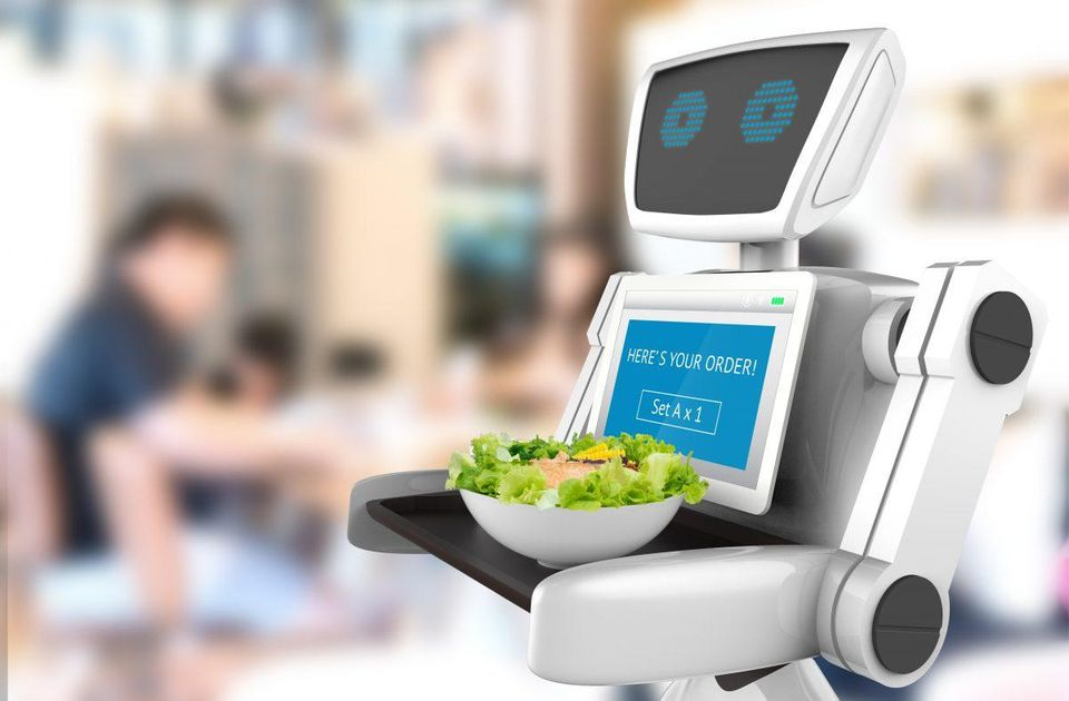 robots in restaurants