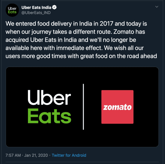 uber eats statement - restroapp