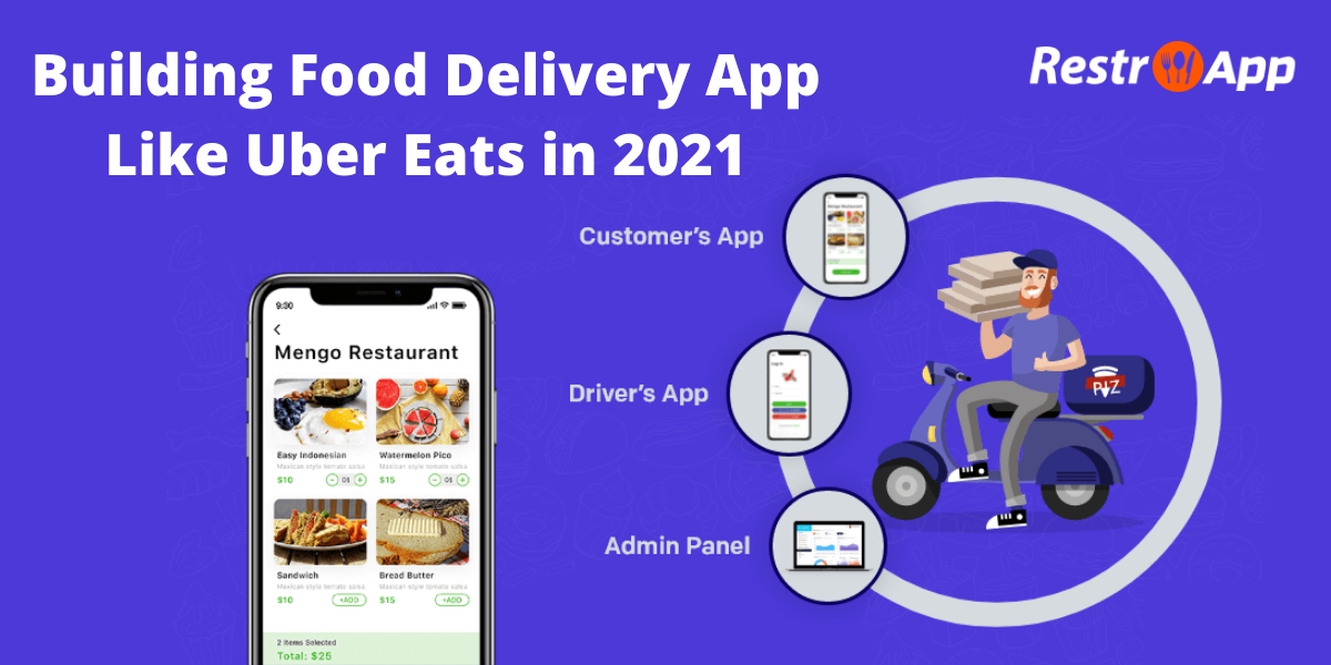 Building Food Delivery App Like Uber Eats in 2021
